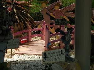 Fairy garden at Denman