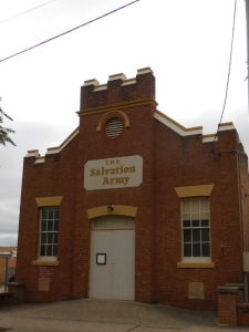 Mudgee building - Salvation Army