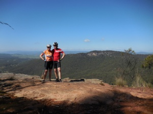 Nancy and Dave in the Blue Mountains
