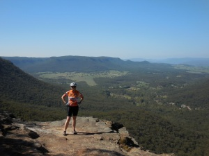 Nancy in the Blue Mountains