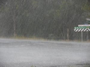 Rain delay  - really