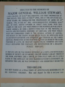 William Stewart - original owner of Ambercrombie House