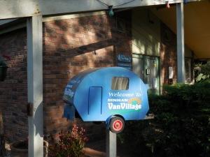 Denman van village mailbox