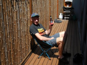 Helinox step 3 - grab cold beer and relax
