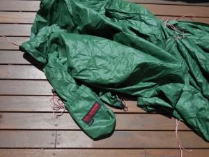 Hilleberg Tarp 10 - built in stuff sack