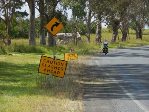 And old favourite Aussie road sign