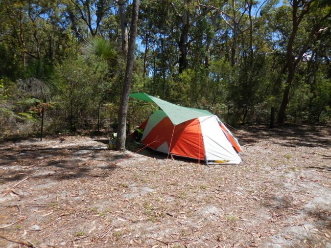 Camping marketing collateral