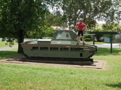 Dave on the tank