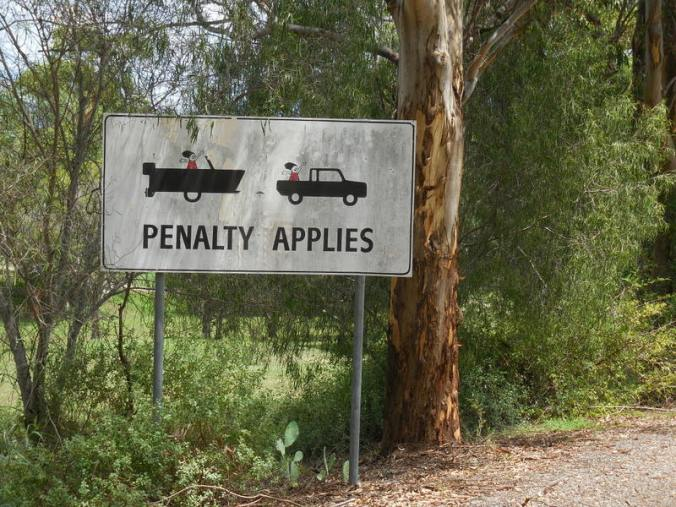 Not sure what the penalty is for
