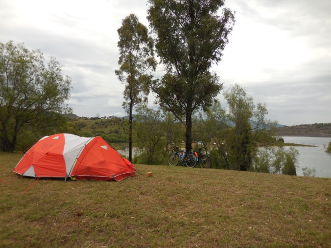 Yes - this really is our campsite - Glenbawn Lake 1