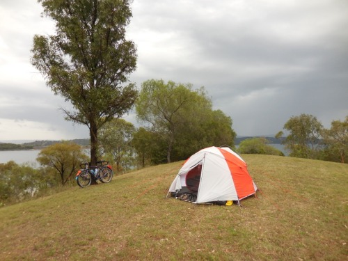 Yes - this really is our campsite - Glenbawn Lake 2