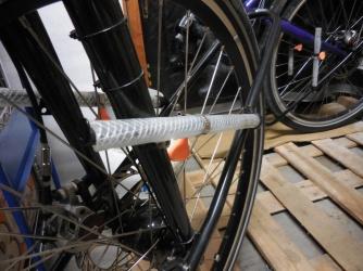 Hose rack invention
