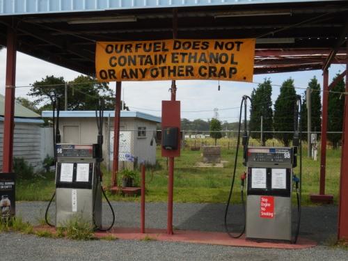 Not so green gas