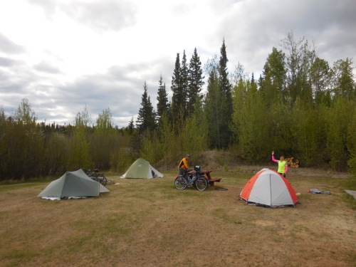 Camp at C Lazy Moose