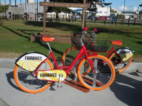 Fairbanks bike scheme