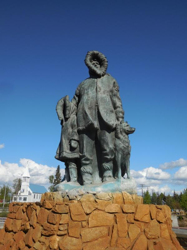 Fairbanks statue
