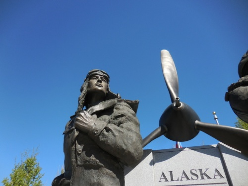 Fairbanks WWII monumnet 1