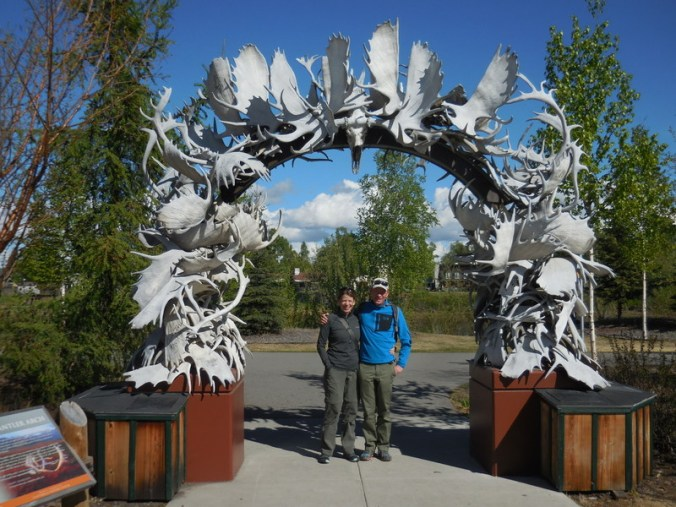 Moose horn arch