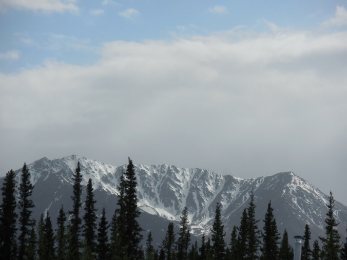 Mountains near camp 1