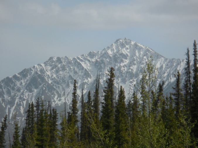 Mountains near camp