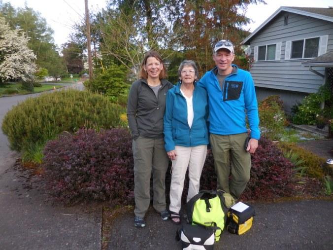 Pre trip with Nancy's Mom
