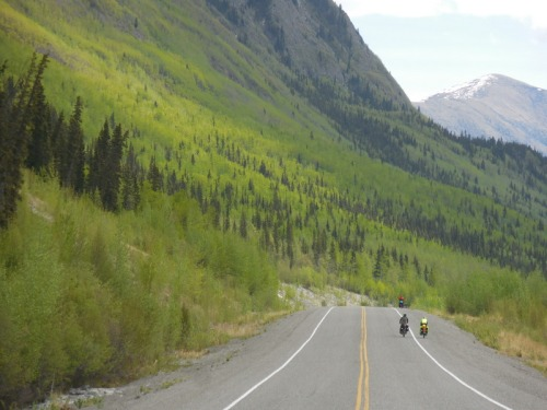 Riding the Alcan