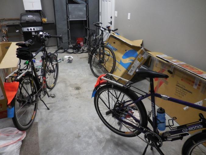 Three bikes done