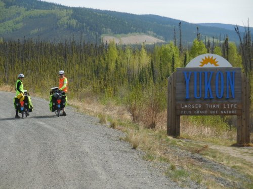 Yukon by bike