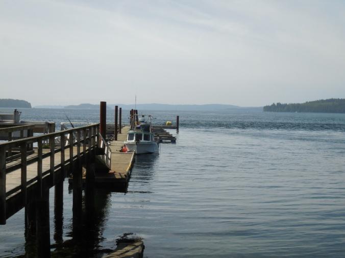 Ader Bay dock