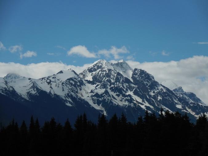 Coast mountain towards Stewart 1