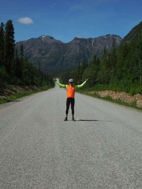 Dave on the Cassiar Highway