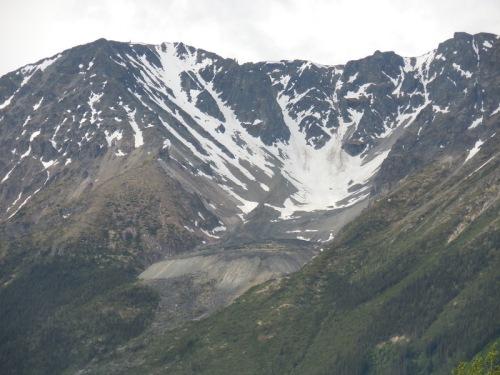 Fading glacier