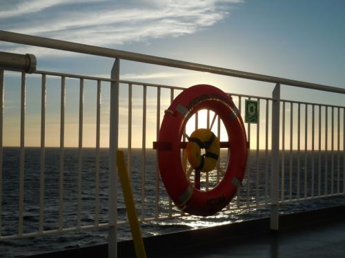 Ferry life saving ring 3