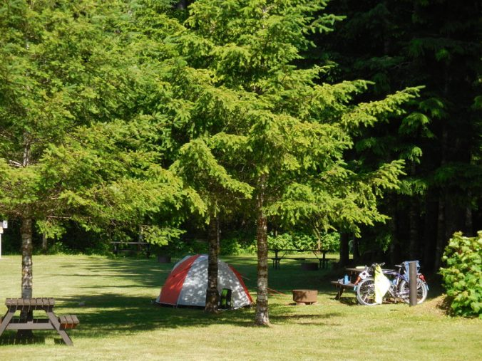 Fisher Boy Rv park - our site