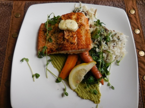 Great salmon dinner