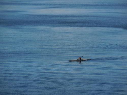 Kayaker near Bella Bella