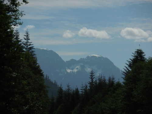 North Vancouver Island mountains