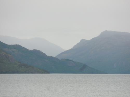 Stroms over the lake