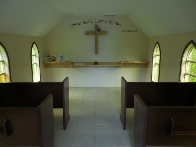 Usk Pioneer Church inside 2