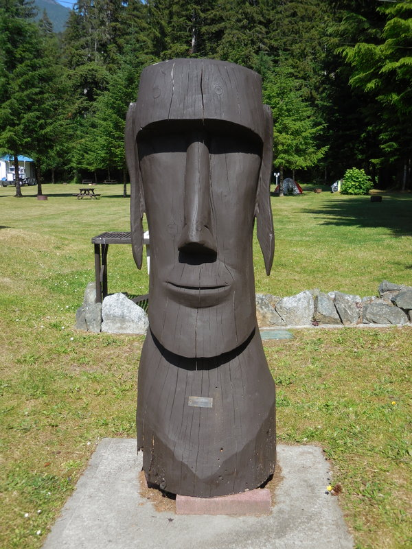 Wood - Easter Island
