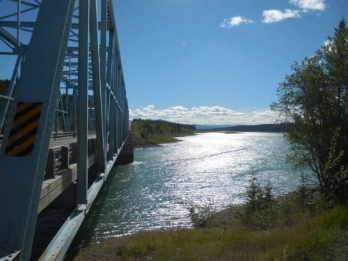 Yukon crossing near Wolf Creek