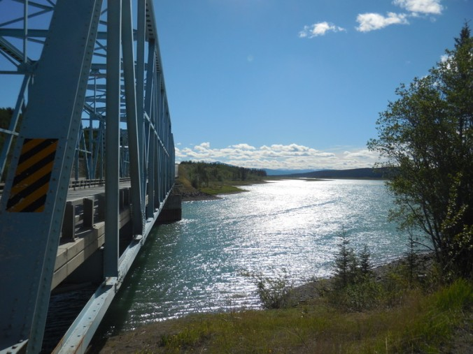 Yukon crossing near Wolf Creek