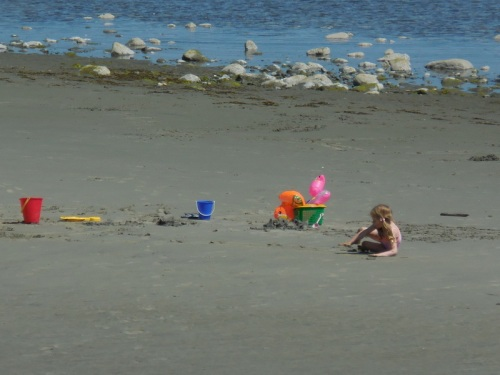 Beach life in Qualicum 2