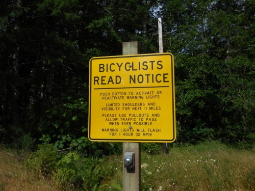 Biker warning sign 2