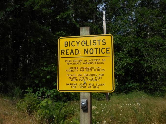 Biker warning sign 2