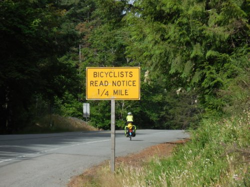 Biker warning sign 3
