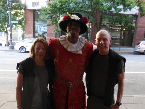 Heathman doorman and us 2