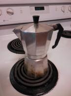 Riding Fool had a proper espresso machine