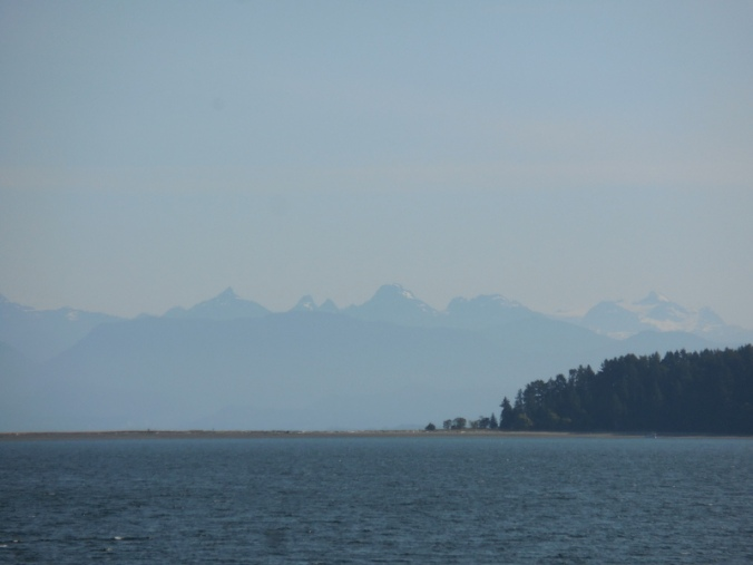 Union Bay and the mainland mountains
