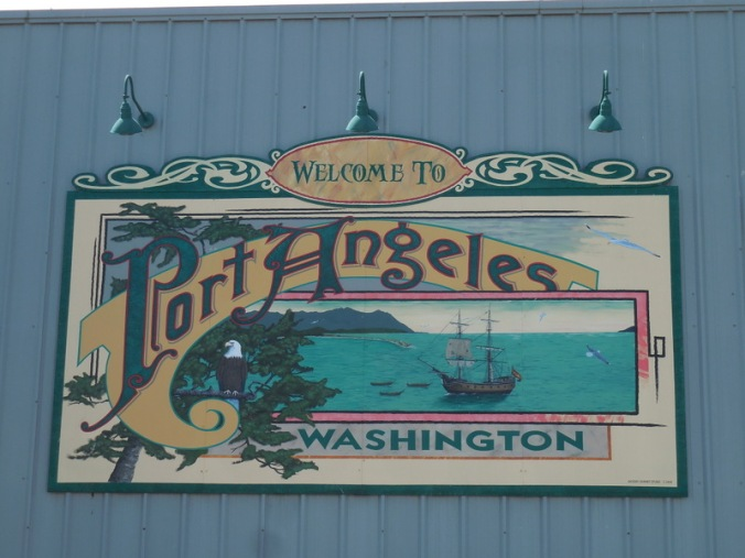 Welcome to Port Angeles - USA